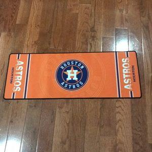 New Houston Astros rubber mat